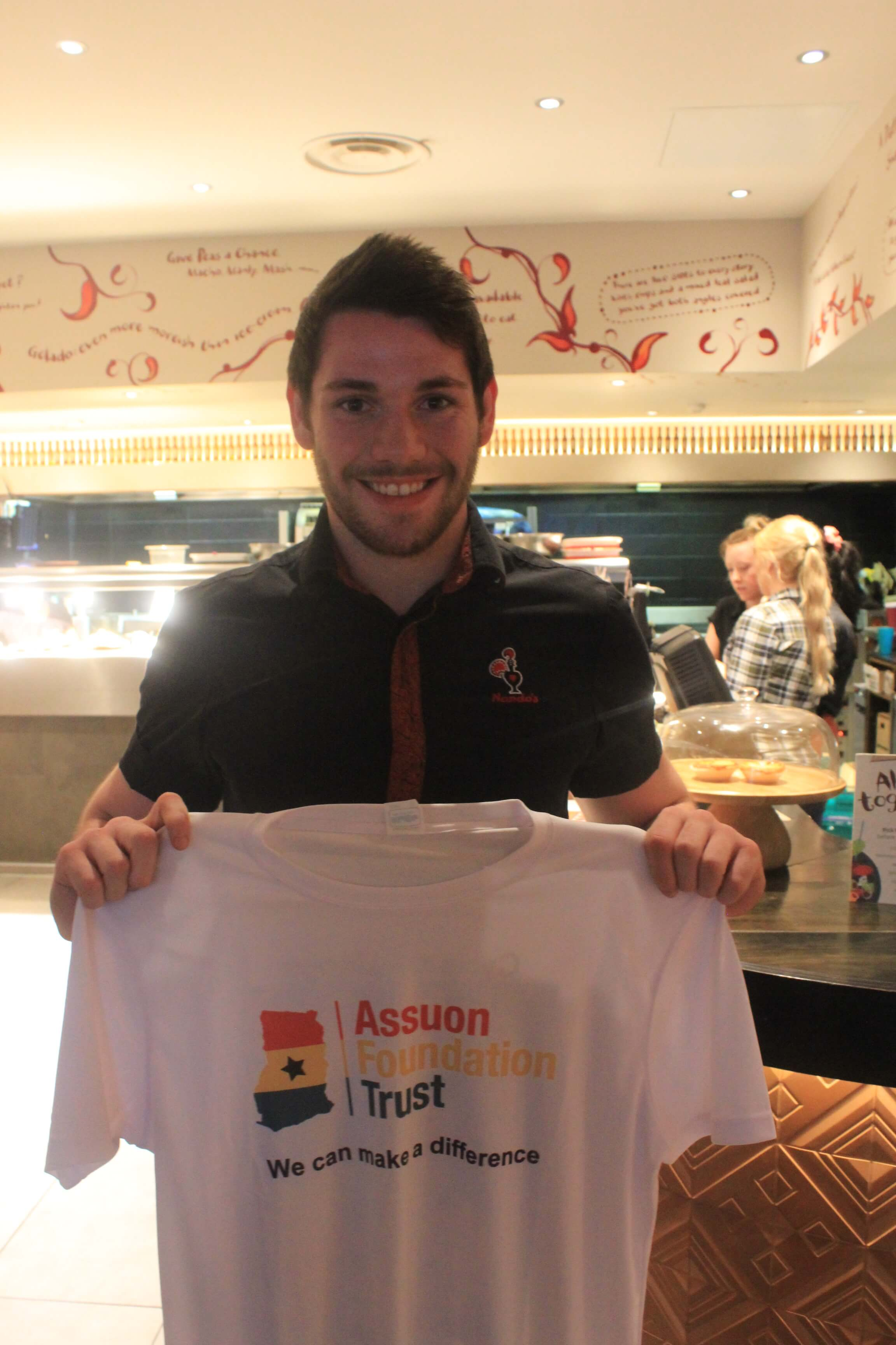 Gloucester Nandos supporting AFT cycling challenge