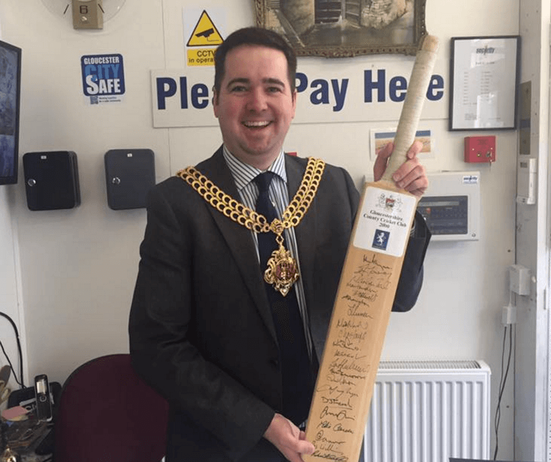 Gloucester Mayor to host a charity cricket tournament